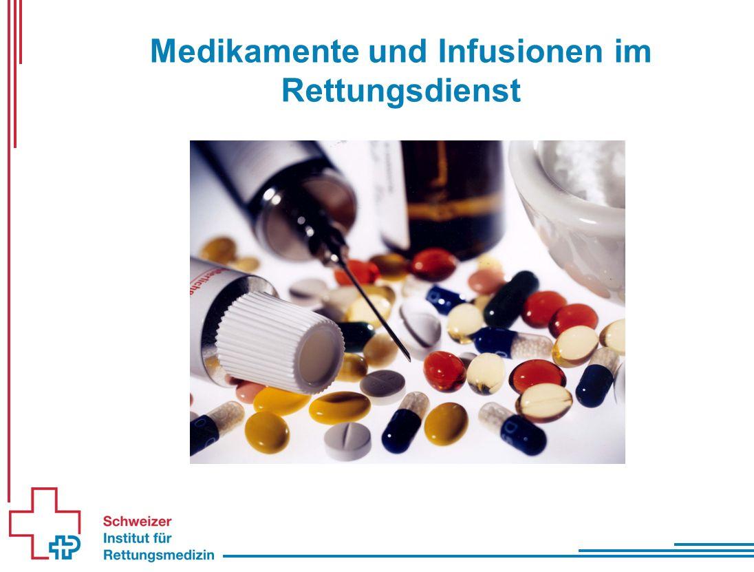 Medikamente und Infusionen im Rettungsdienst