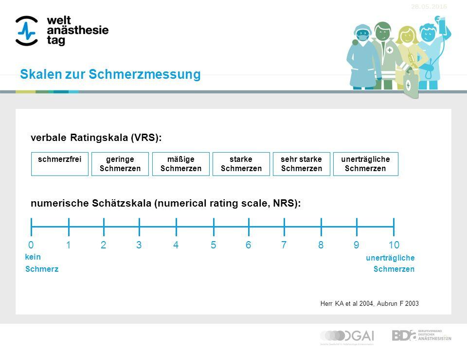 """28.05.2016 9 visuelle Analogskala (VAS): """"Smiley -Skala (Face Scale): Herr KA et al 2004, Aubrun F 2003 kein Schmerz unerträgliche Schmerzen Skalen zur Schmerzmessung"""