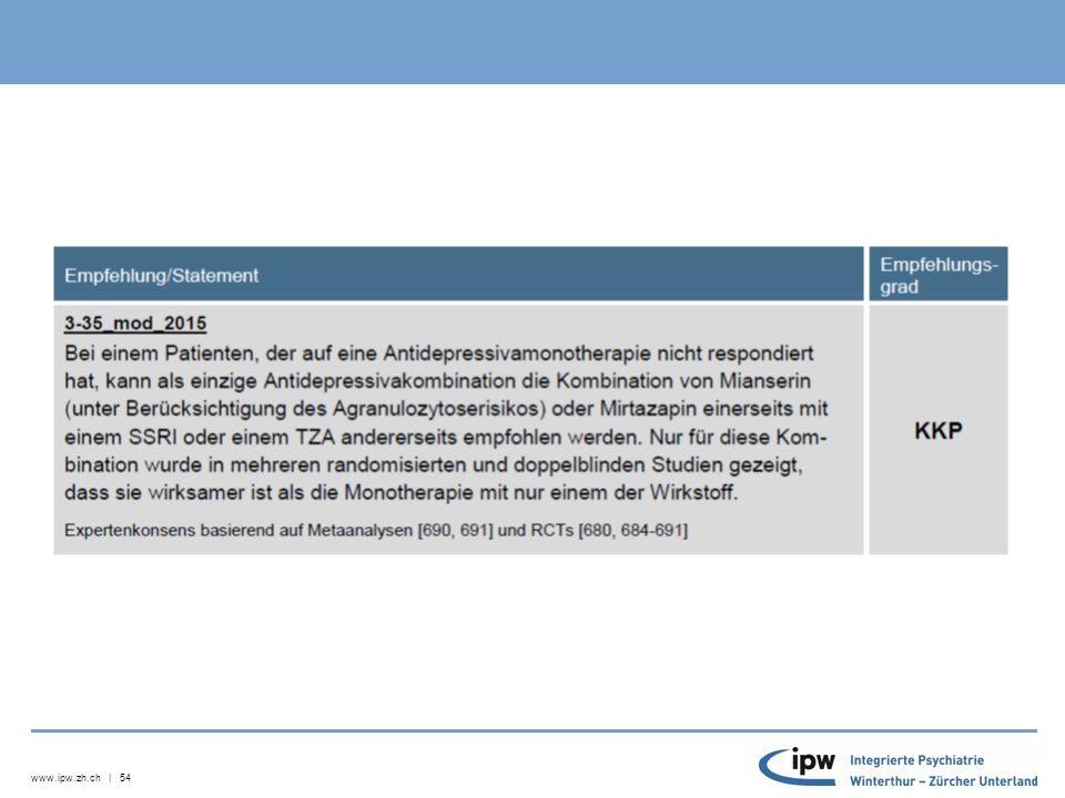 www.ipw.zh.ch | 55 Neuroleptika (vgl.Lehrbuch Möller et al.