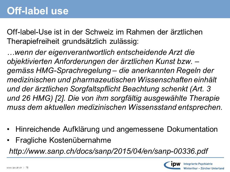 www.ipw.zh.ch | 76 Spezielle Krankheitsbilder