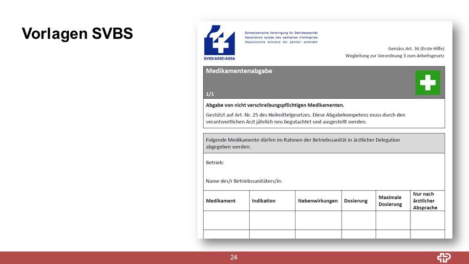 Vorlagen SVBS 24