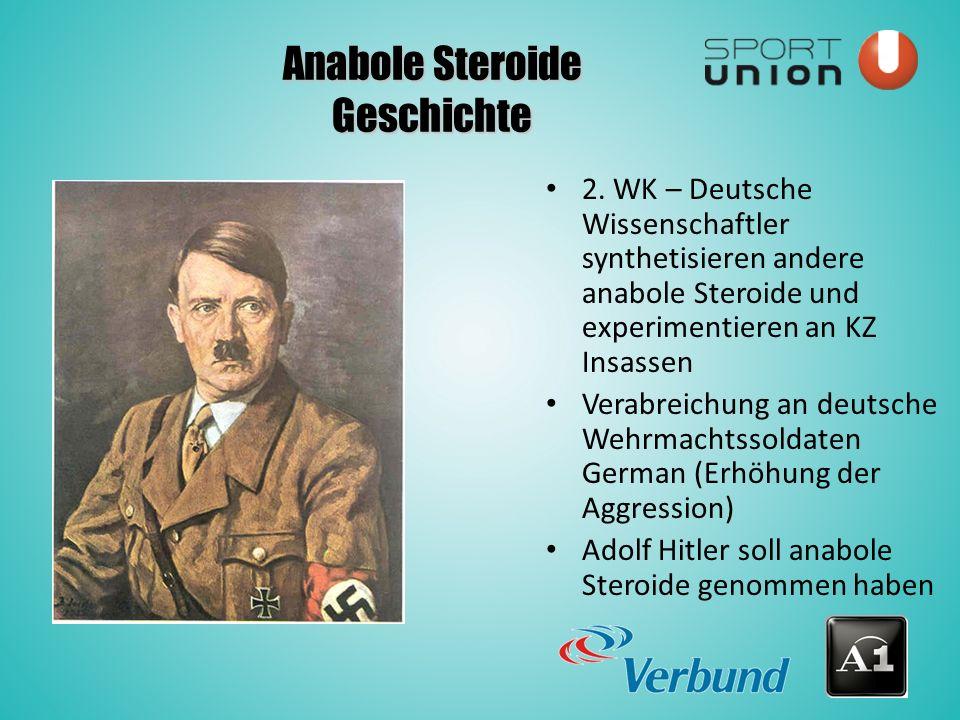 Anabole Steroide Geschichte 2.