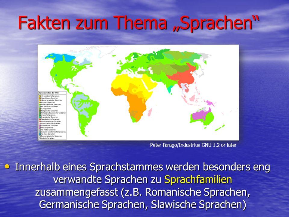 Die ältesten Sprachen Die älteste Sprache Europas: Griechisch (ca.