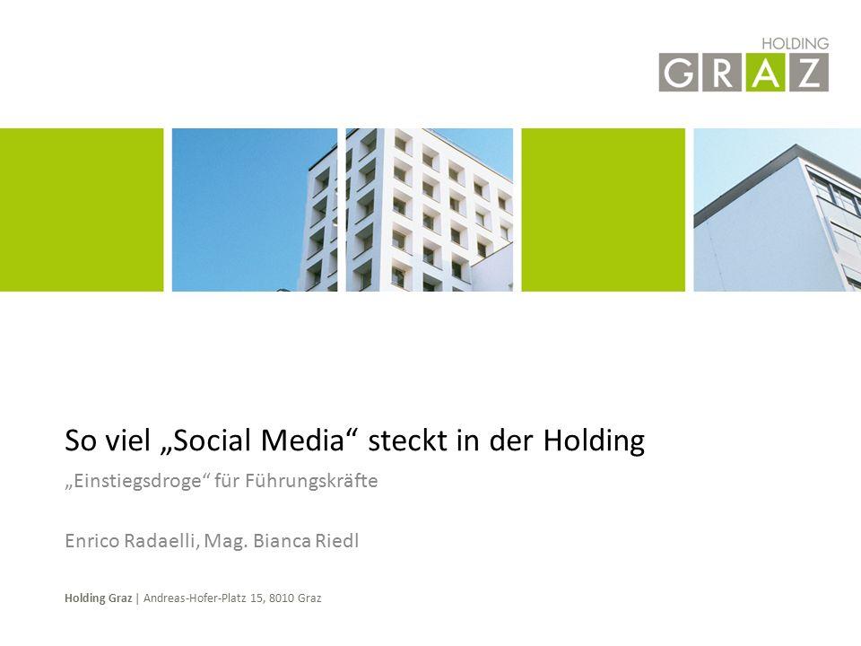 Holding Graz went Facebook Holding Graz went Facebook