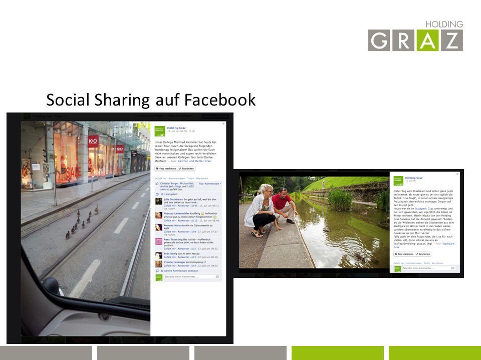 Social Sharing auf Facebook