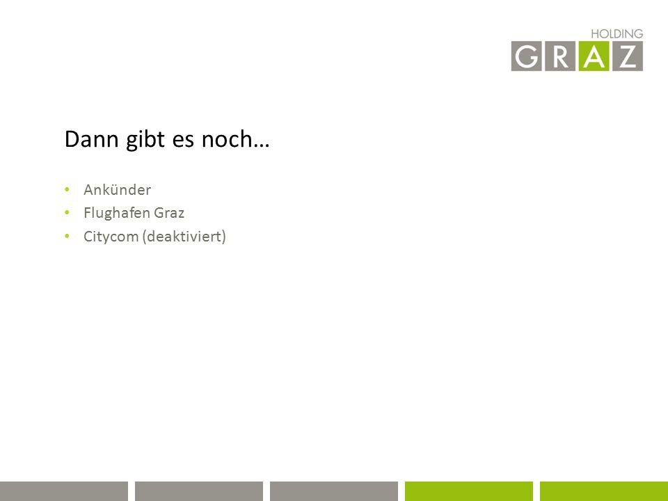 Dann gibt es noch… Ankünder Flughafen Graz Citycom (deaktiviert)