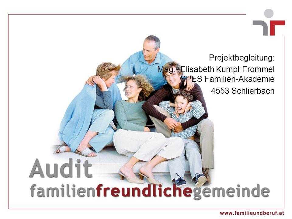 Projektbegleitung: Mag. a Elisabeth Kumpl-Frommel SPES Familien-Akademie 4553 Schlierbach