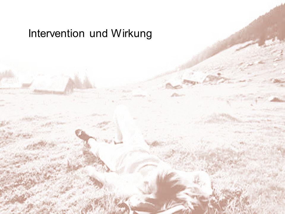 Intervention und Wirkung