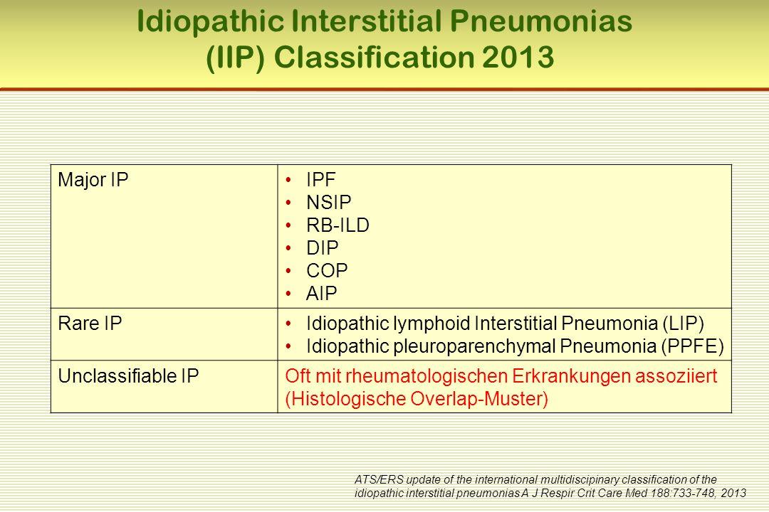 PH - Häufigkeit bei rheumatologischen Erkrankungen  Systemische Sklerose15 – 30 %  Mischkollagenose (MCTD) 10 – 25 %  SLE 5 – 10 %  Polymyositis/DM < 5 %  Sjögren-Syndrom < 5 %  Rheumatoide Arthritis < 5 % McGoon M, et al, Chest 2004, 126:14S-34S Wigley FM, et al, Arthritis Rheum 2005, 52:2125-32 Haas C, Bull Acad Natl Med.