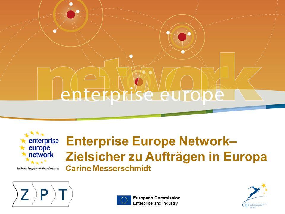 Enterprise Europe NetworkI   HWK – 26.05.2010   ‹#› Das Europäische Netzwerk 2008 startete die EU-Kommission mit dem Enterprise Europe Network (EEN) Europaweit über 100 EEN-Kon- sortien in über 40 Ländern mit ca.