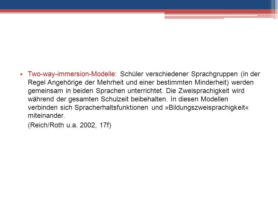 Reich, H.H. (2001): Sprache und Integration. In: Rat für Migration e.V.