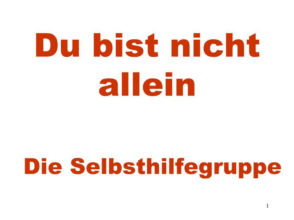 52 Verhältnis Arzt und Selbsthilfegruppe Umfrage in 1996 bei Münchner Ärzten.