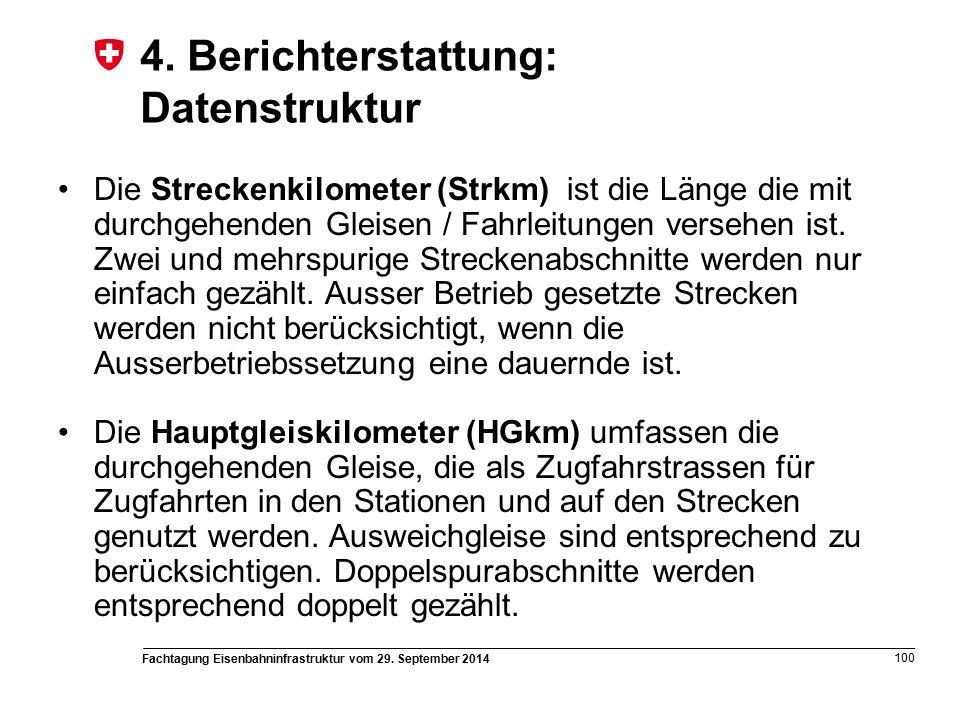 Fachtagung Eisenbahninfrastruktur vom 29. September 2014 100 4.