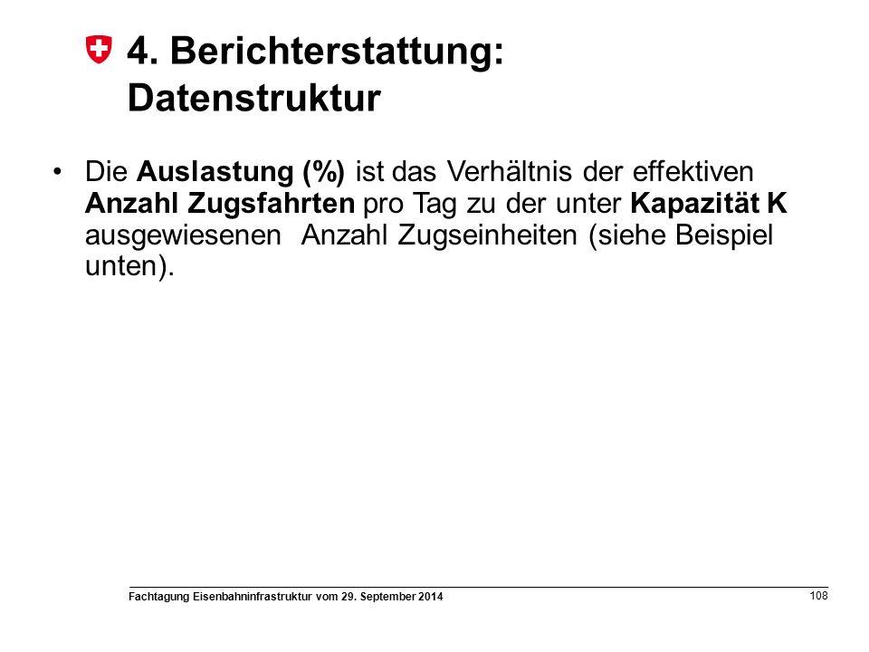 Fachtagung Eisenbahninfrastruktur vom 29. September 2014 108 4.