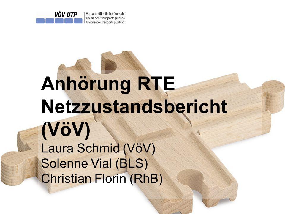 Anhörung RTE, Solenne Vial & Christian Florin   14 Begriffe [2] Der Wiederbeschaffungswert (CHF) »Entspricht dem finanziellen Aufwand für einen gleichwertigen Ersatz einer Infrastrukturanlage.