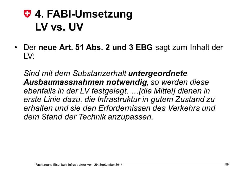 Fachtagung Eisenbahninfrastruktur vom 29. September 2014 89 4.