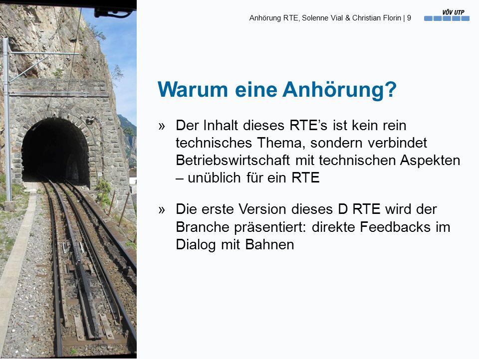 Anhörung RTE, Solenne Vial & Christian Florin | 9 Warum eine Anhörung.