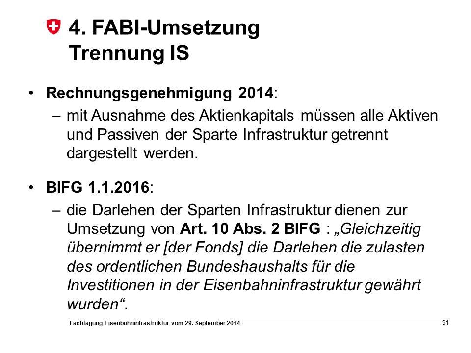 Fachtagung Eisenbahninfrastruktur vom 29. September 2014 91 4.