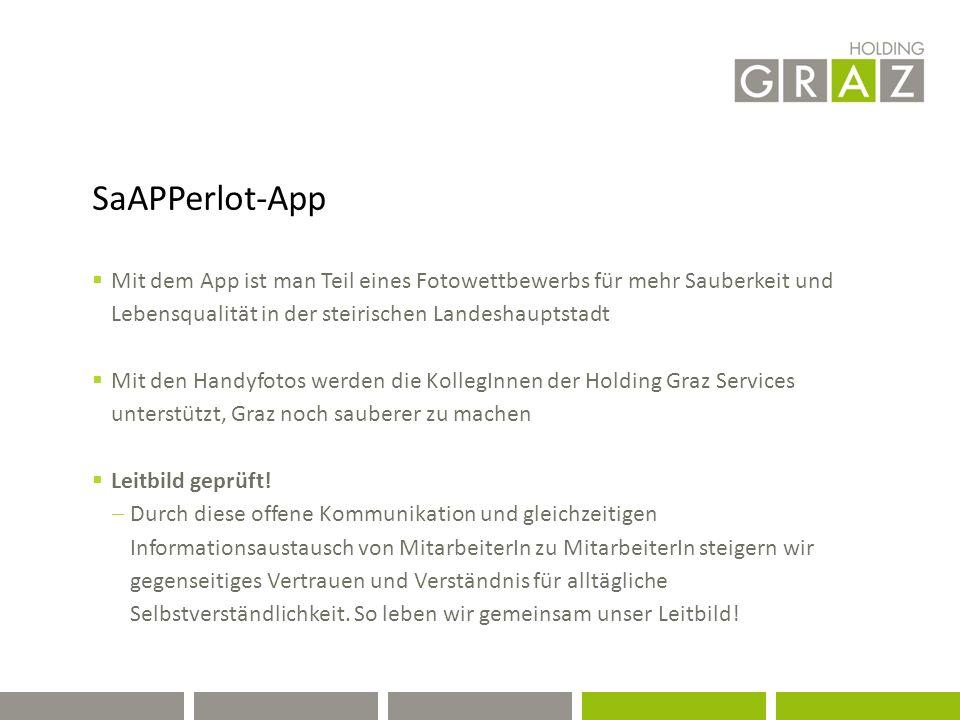 sAPPerlot-App  Darum zücke Dein Smartphone und drücke ab, wenn Du.....