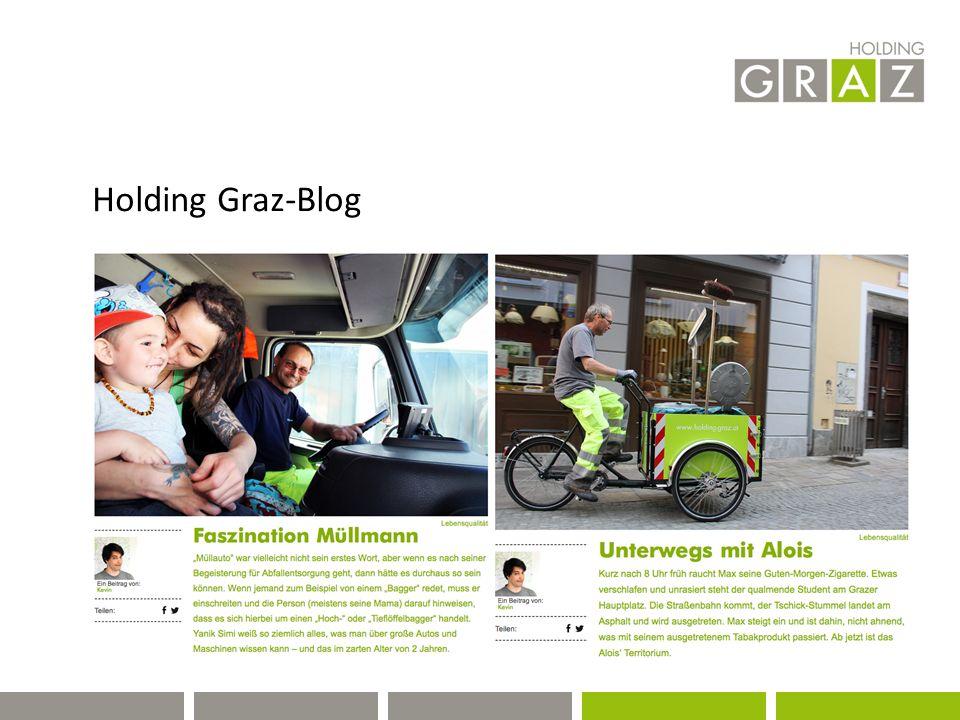 Holding Graz-Blog
