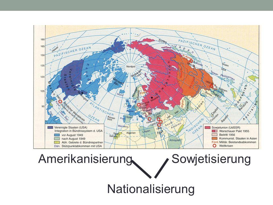 AmerikanisierungSowjetisierung Nationalisierung