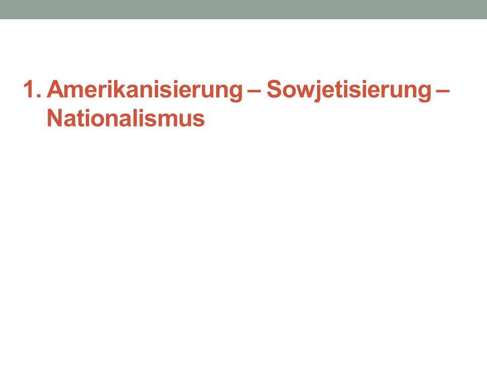 Osten: Prinzip des Störens von unerwünschten gegnerischen Sendern grosser Aufwand – internationale Programme in 80 Sprachen Ost-Programme (DDR- Programm in der BRD) wenig attraktiv Sandmännchen in Konkurrenz, das DDR- Sandmännchen seit 1959