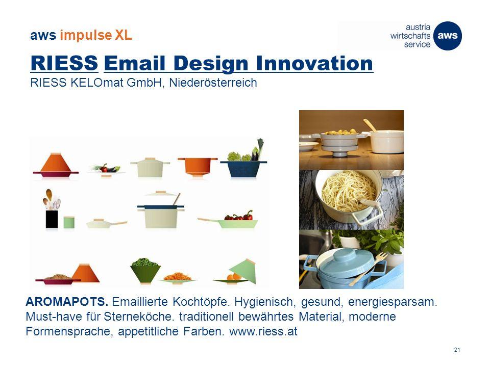 RIESS Email Design Innovation RIESS KELOmat GmbH, Niederösterreich AROMAPOTS.