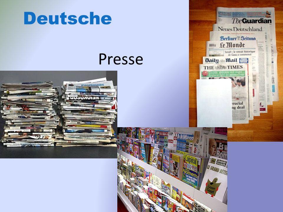 Presse Deutsche