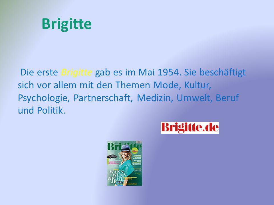 Die erste Brigitte gab es im Mai 1954.