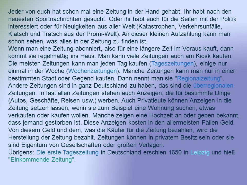 Der Stern erscheint als aktuelles Wochenmagazin jeden Donnerstag und wird zum Großteil in Deutschland verbreitet.