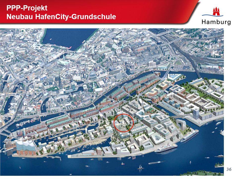 36 PPP-Projekt Neubau HafenCity-Grundschule