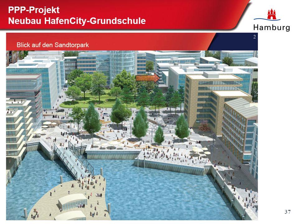 37 PPP-Projekt Neubau HafenCity-Grundschule