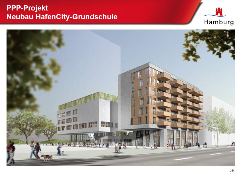39 PPP-Projekt Neubau HafenCity-Grundschule