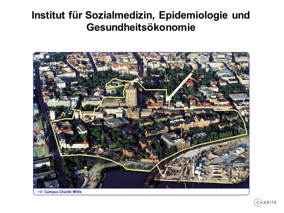 Institut für Sozialmedizin, Epidemiologie und Gesundheitsökonomie