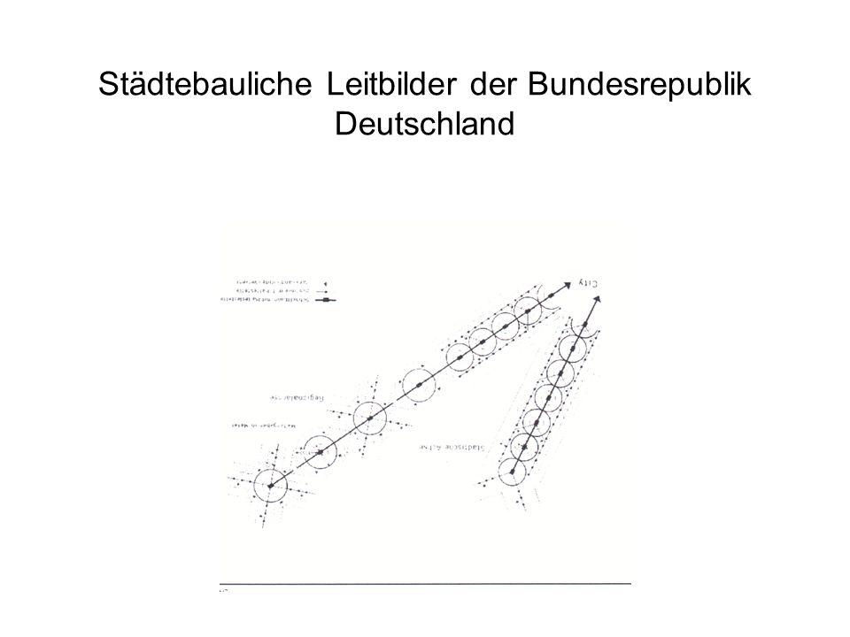Städtebauliche Leitbilder der Bundesrepublik Deutschland