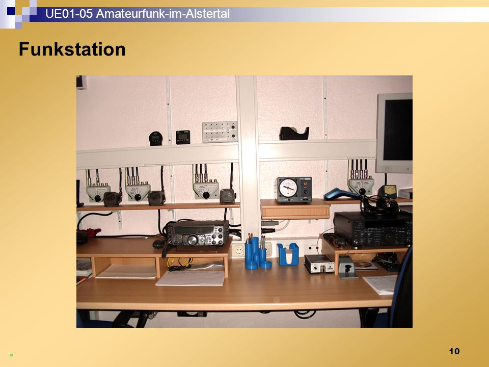 10 UE01-05 Amateurfunk-im-Alstertal Funkstation