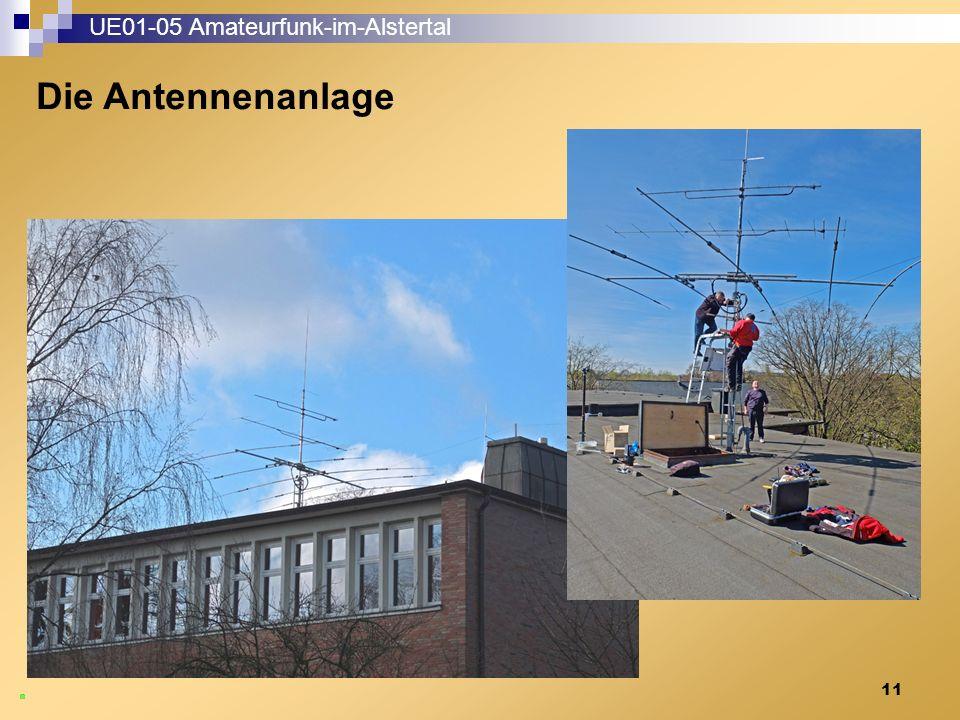 11 UE01-05 Amateurfunk-im-Alstertal Die Antennenanlage