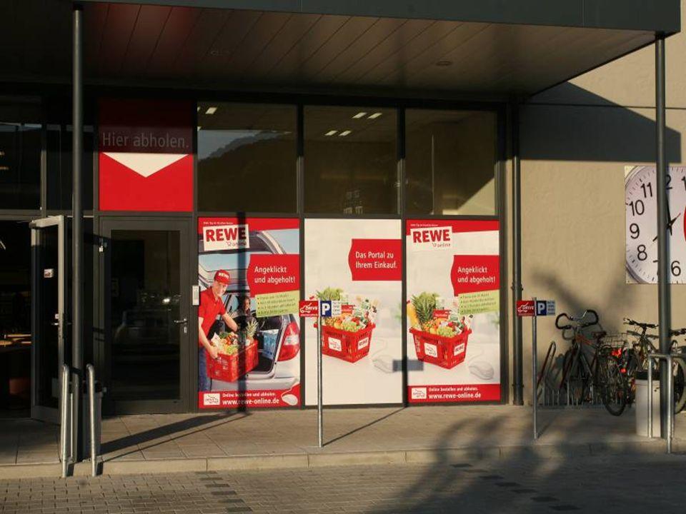 REWE Drive Station in Landshut