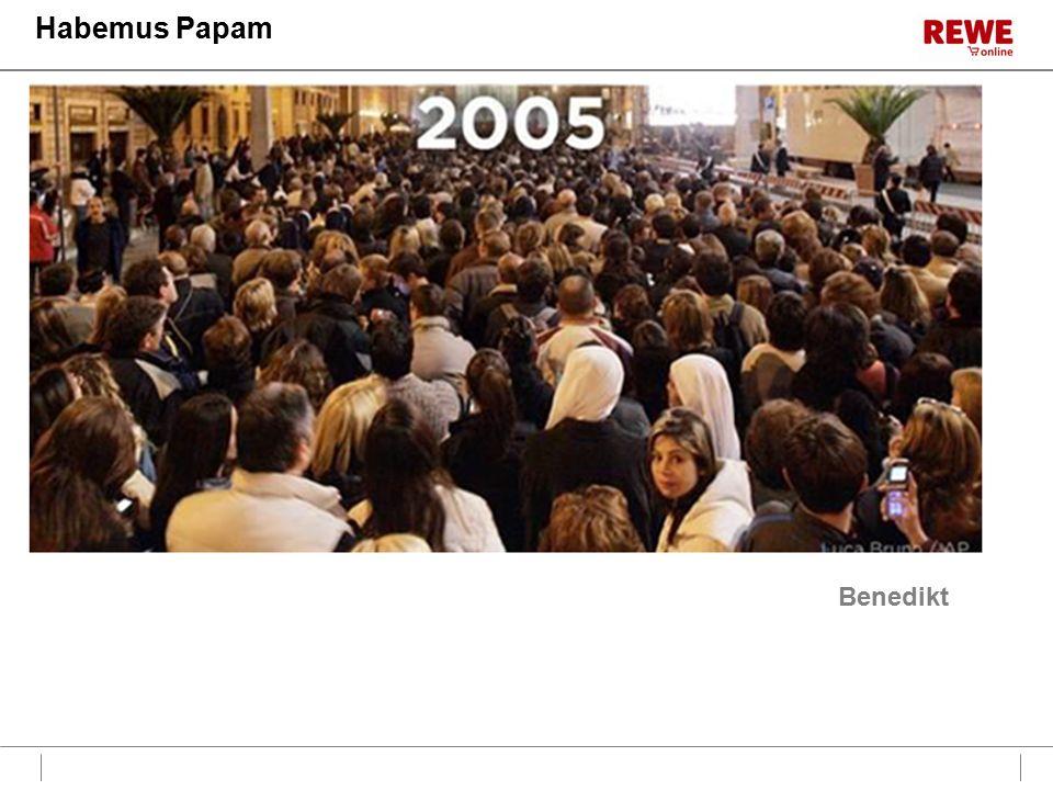 Habemus Papam Benedikt