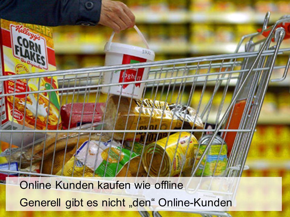 """Online Kunden kaufen wie offline Generell gibt es nicht """"den Online-Kunden"""