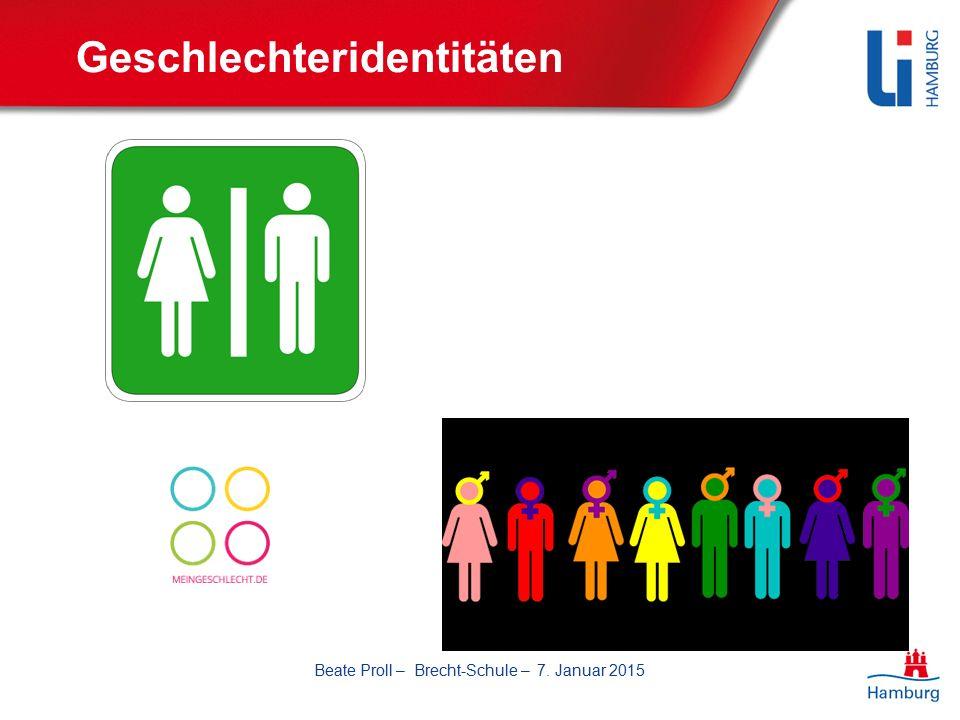 Geschlechteridentitäten Beate Proll – Brecht-Schule – 7. Januar 2015