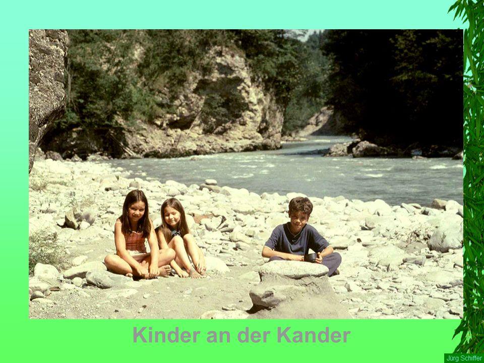 Kinder an der Kander
