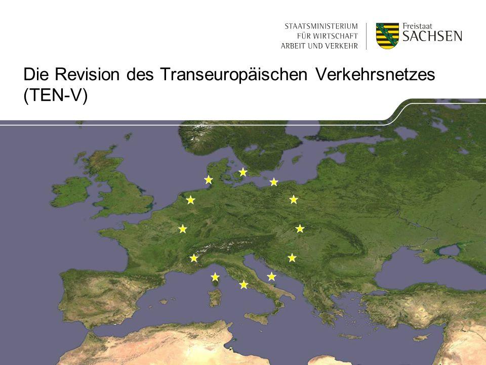Die Revision des Transeuropäischen Verkehrsnetzes (TEN-V)