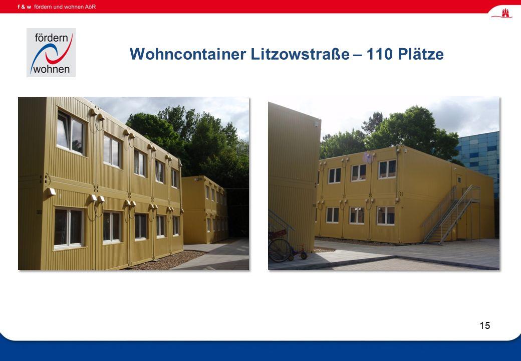 Wohnen und Eingliederungshilfe Wohncontainer Litzowstraße – 110 Plätze 15