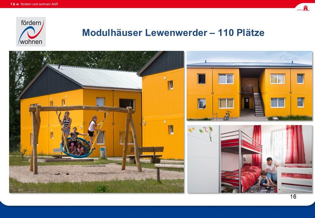 Wohnen und Eingliederungshilfe Modulhäuser Lewenwerder – 110 Plätze 16