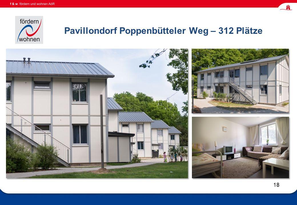 Wohnen und Eingliederungshilfe Pavillondorf Poppenbütteler Weg – 312 Plätze 18