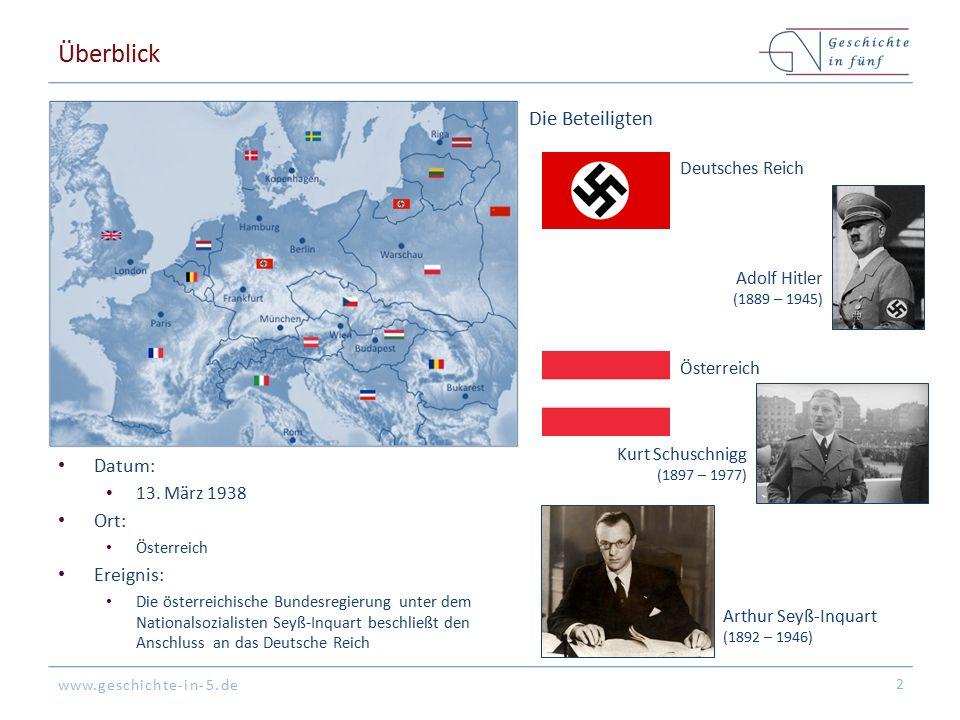 www.geschichte-in-5.de Überblick Datum: 13.