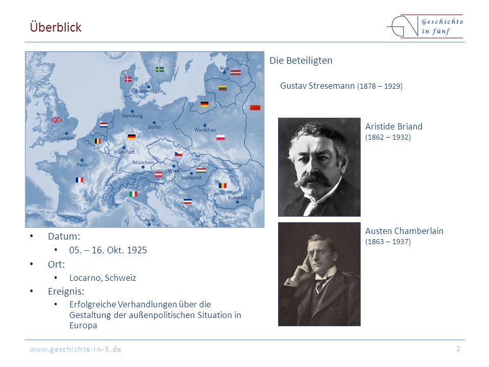 www.geschichte-in-5.de Überblick Datum: 05. – 16.