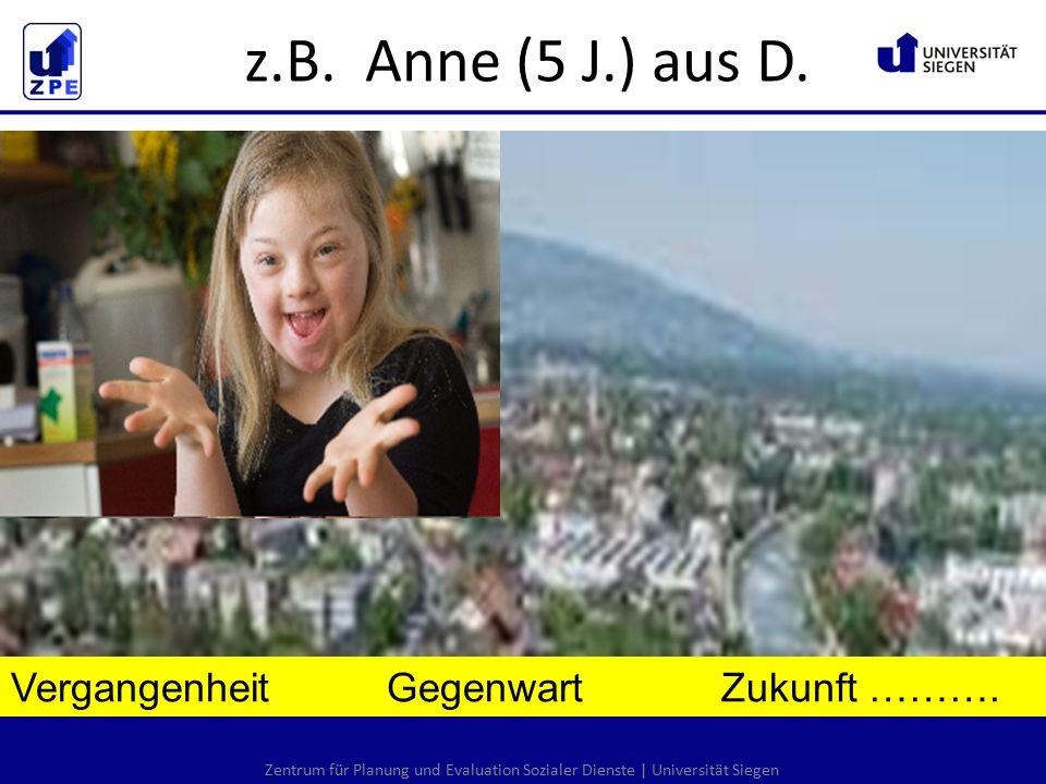 Zentrum für Planung und Evaluation Sozialer Dienste | Universität Siegen Vergangenheit Gegenwart Zukunft ……….