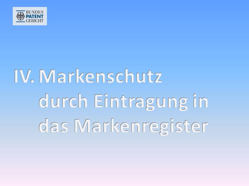 Eintragung in das Markenregister des Deutschen Patent- und Markenamts Eintragung in das Markenregister des Deutschen Patent- und Markenamts Verkehrsgeltung im Inland (Benutzung im geschäftlichen Verkehr) Verkehrsgeltung im Inland (Benutzung im geschäftlichen Verkehr) Notorische Bekanntheit auch im Ausland Notorische Bekanntheit auch im Ausland
